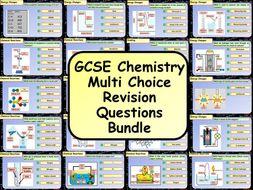 KS4 AQA GCSE Chemistry (Science) Multiple Choice Question Bundle