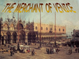 The Merchant of Venice Character analysis package GCSE Literature