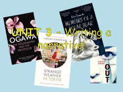 Narrative writing - 6/12 lesson unit