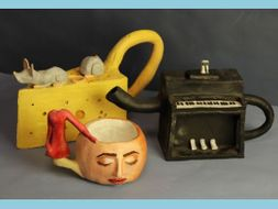 Surreal objects and teapots planning ideas