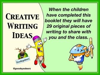 Creative Writing Ideas - Children's Workbook