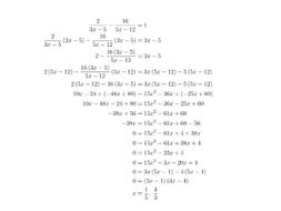 Quadratic Equation Questions Worksheets