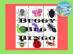 Buggy Bug Bingo
