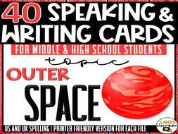 Space Exploration | ESL/ELL/ELA Speaking&Writing Activities | For Teens | BUNDLE