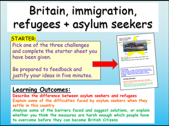Asylum Seekers / Refugees Citizenship