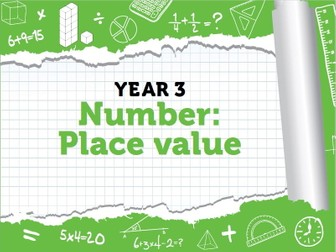 Year 3- Place Value- Week 1 - Counting in hundreds, representing 3 digit numbers.