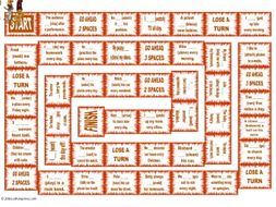 Present Simple Tense with Positive and Negative Statements Animated Board Game