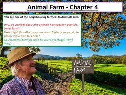Animal Farm Chapter 4