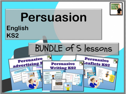 English- Persuasion (adverts, leaflets and formal writing) KS2