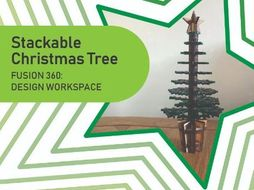 Stackable Christmas Tree (Fusion 360)