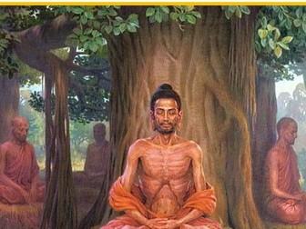 New AQA GCSE RE - Buddhist beliefs - The Buddha's ascetic  UPDATED