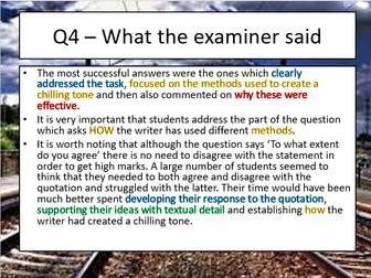 AQA new spec Paper 1 Question 4