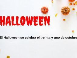 Spanish Halloween PowerPoint Presentation