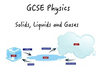 Solids, Liquids and Gases Booklet
