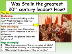 Stalin - a great leader?