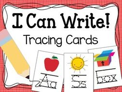 Alphabet and CVC Words Tracing Cards for Fine Motor Skills