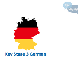 German Key Stage 3 resources - New GCSE-style activities