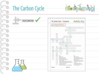Carbon Cycle - Crossword (KS3/KS4)