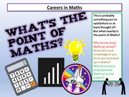 Careers in Maths