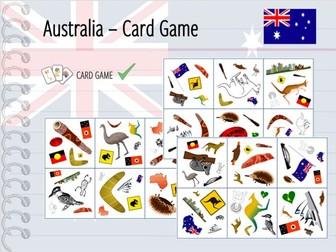 Australia - Card Game