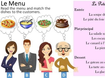 Food and Eating Out - French