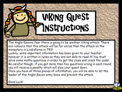 Vikings Math Quest (with runes)