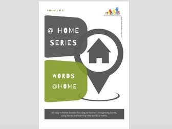 NEW @Home Series - 1 WORDS @ Home (#1 of 5)