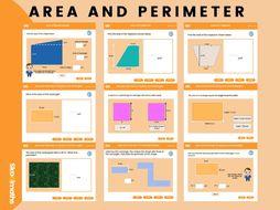 Area & Perimeter - Key Stage 3 (US 6th - 8th grades)
