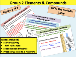 AS Chemistry: Group 2 Elements