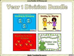 Year 1 Division Bundle