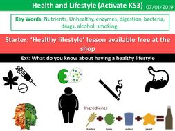 Health and Lifestyle (Activate KS3)