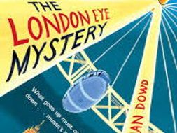 Tension in 'The London Eye Mystery'