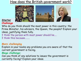 UK Government + Parliament