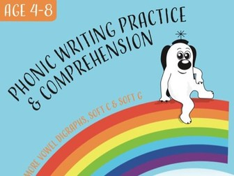 Writing And Comprehension Practice: Zoggy At The Seaside (4-8 years)