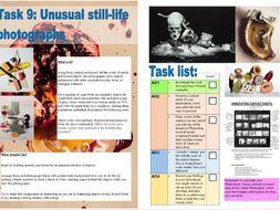 A level Art & Design Remote Learning Bundle