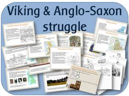 The Viking & Anglo-Saxon struggle for the Kingdom of England:powerpoints, worksheets, activities