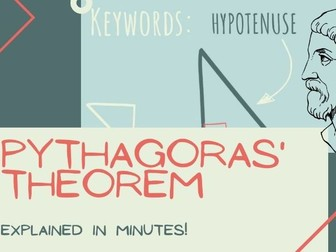 Pythagoras' Theorem Introduction Lesson: Video