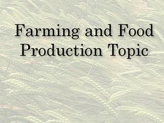 KS 2 Farming and food production Cross Curricular Topic