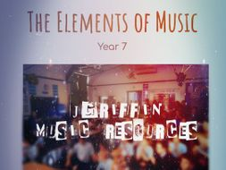 KS3 - The Elements of Music (Full SOW) - Presentations, Resources and Work Book (Requires Google)
