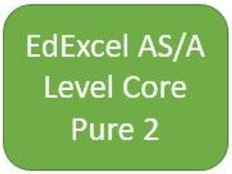 EdExcel AS/A Level Core Pure Maths 2 - Student Chapter Booklets and Dr Frost Presentation