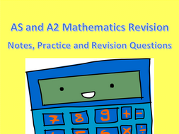 AS and A2 Mathematics Revision Packs