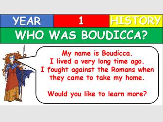 KS1 History - Who was Boudicca?
