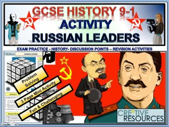 Russian Leaders - GCSE History