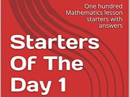 Maths Lesson Starters Of The Day 1