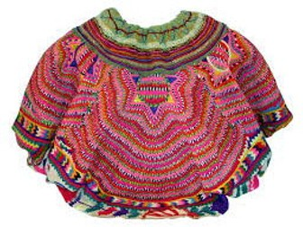 La ropa tradicional: El sombrero, poncho, huipil Spanish Reading