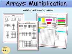 arrays multiplication drawing a grid and writing number sentences ks1 by ro milli0110. Black Bedroom Furniture Sets. Home Design Ideas