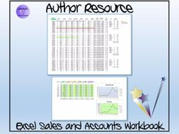 TES Authors' Resource - TES Author Sales -Excel Sales and Accounts Tracker and Workbook