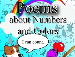 Poems tackling about action words, numbers and colors for kinder, grade 1 & 2