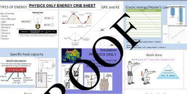 AQA Physics Energy 4.2 Revision