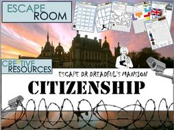 Citizenship - Escape Room - Back to School